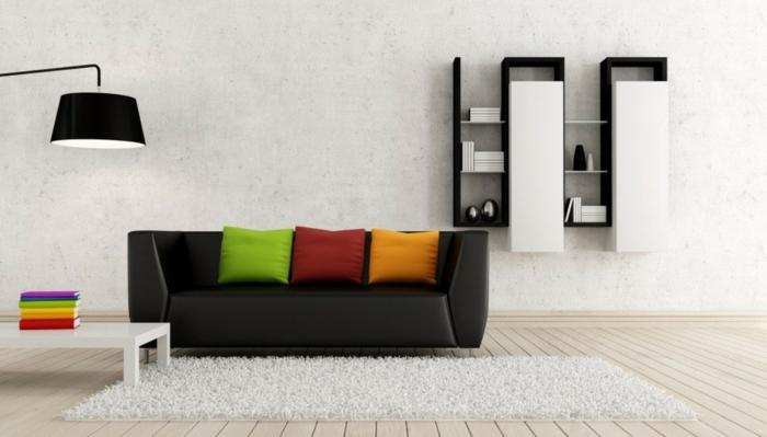 wohnzimmer dekoration. Black Bedroom Furniture Sets. Home Design Ideas