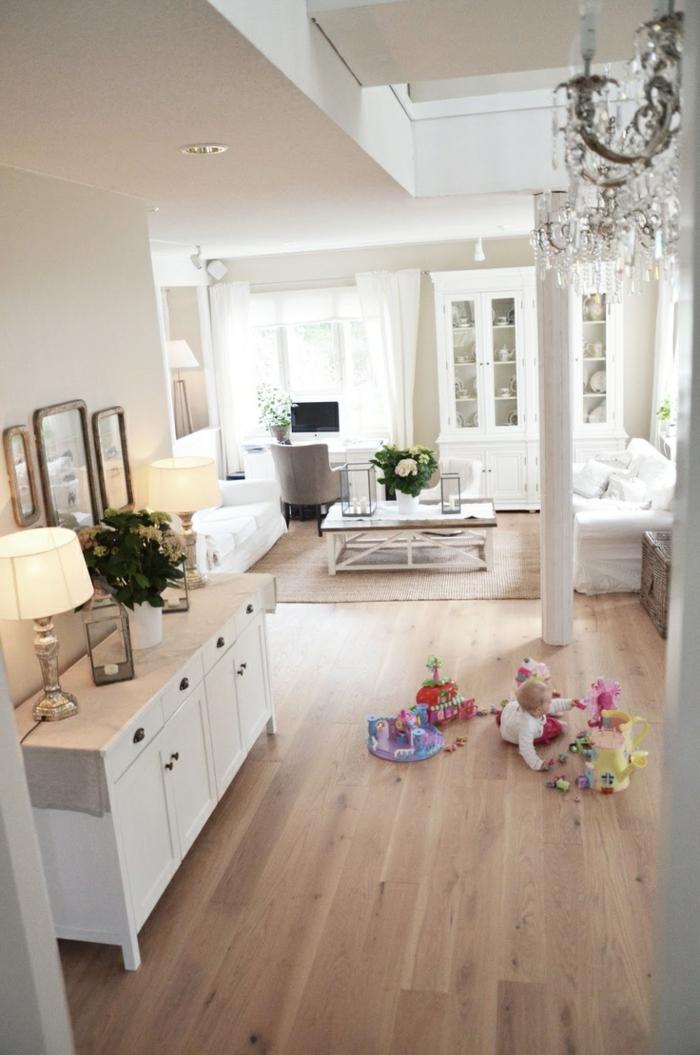 dekoration-im-wohnzimmer-sehr-gemütlich