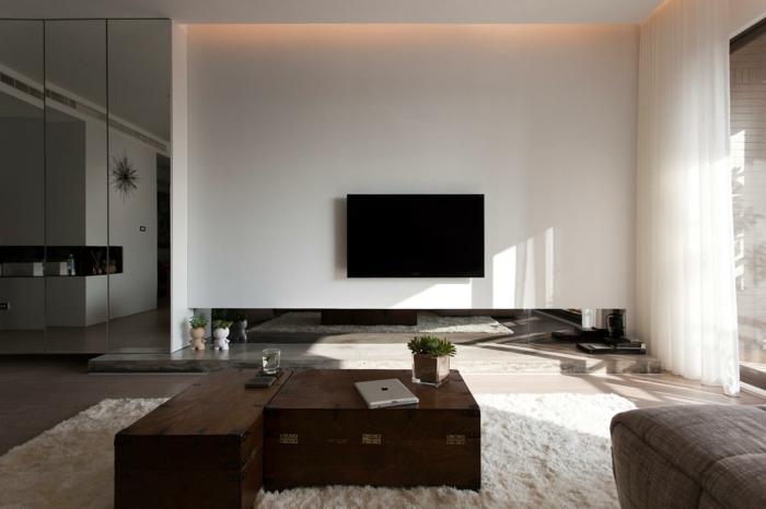 Wohnzimmer design wand  Schöne Dekoration Wohnzimmer ~ Kreative Bilder für zu Hause Design ...