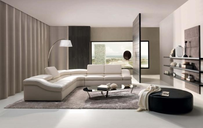 dekoration-im-wohnzimmer-weißes-minimalistisches-design