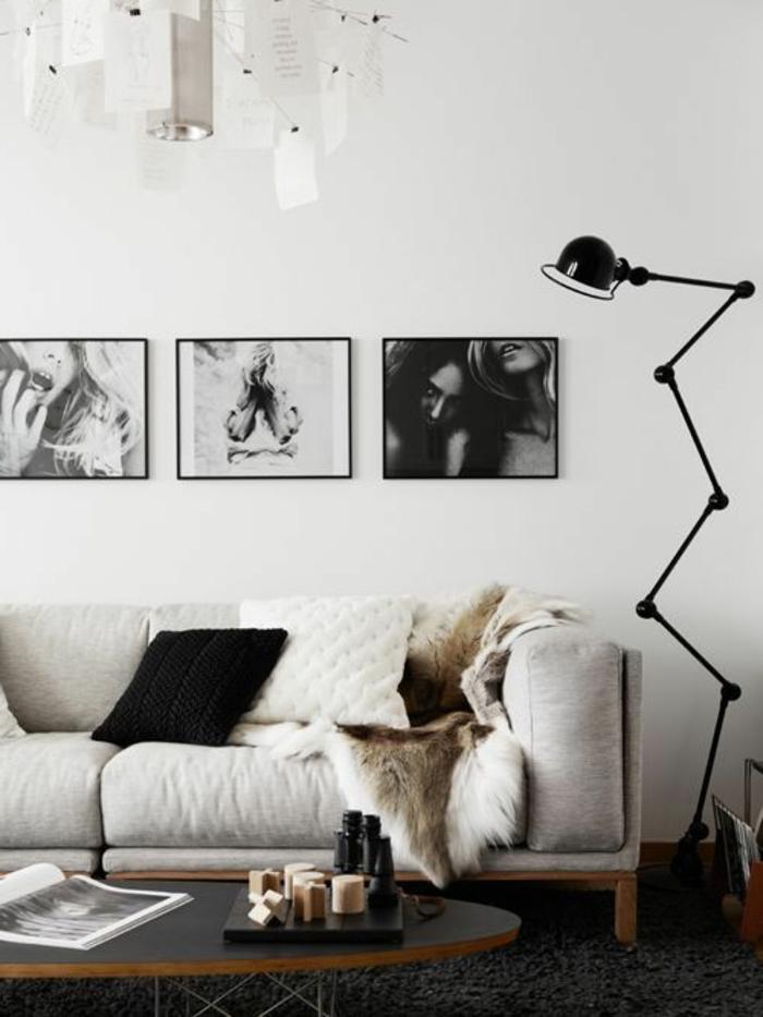 dekoration-im-wohnzimmer-weißes-sofa