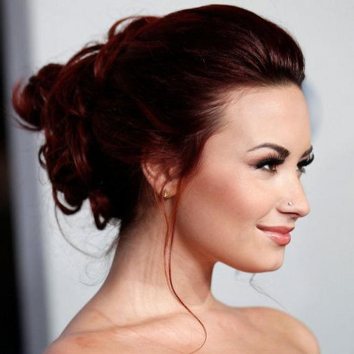 elegante-frisuren-rötliche-haare