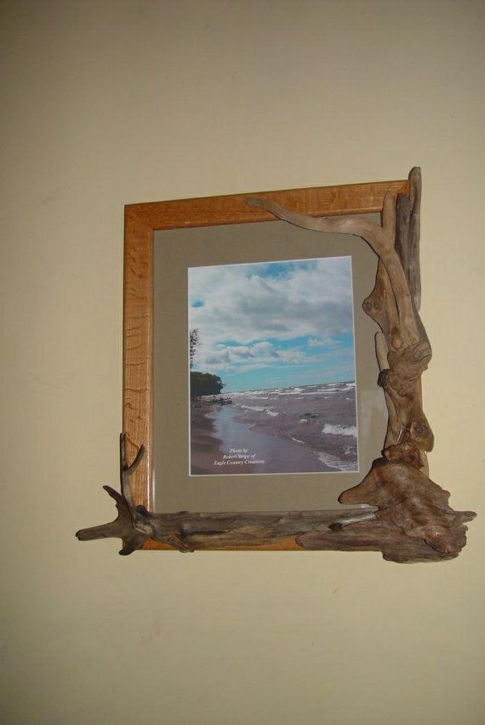 Treibholz Bilderrahmen für Ihre speziellen Erinnerungen - Archzine.net