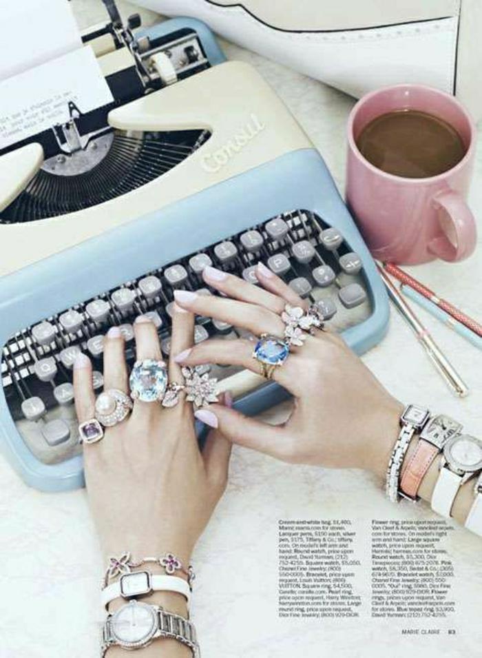 elektrische-Schreibmaschine-kokett-süß