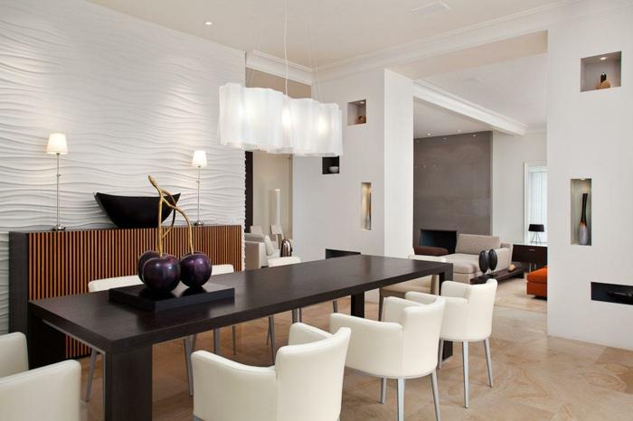70 coole esstischlampen zum inspirieren. Black Bedroom Furniture Sets. Home Design Ideas