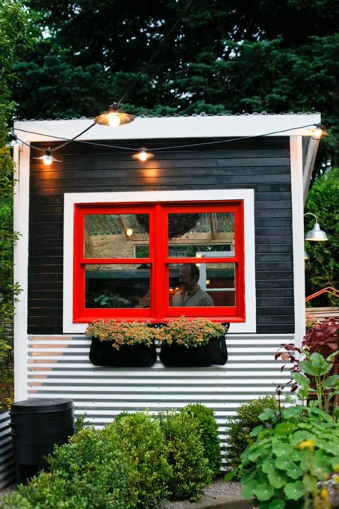 25 tolle fotos von gartenhaus aus metall. Black Bedroom Furniture Sets. Home Design Ideas