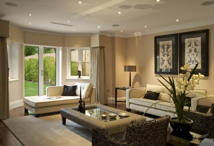 Gemtliches Wohnzimmer Einrichten 34 Ideen Aus Luxusvillen ... Wohnzimmer Gemutlich Einrichten