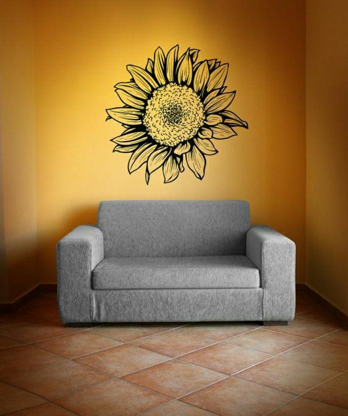Dekorationsideen Kleines Wohnzimmer Frisch Wohnzimmer Deko: 40 Super Coole Sonnenblumen Deko Ideen