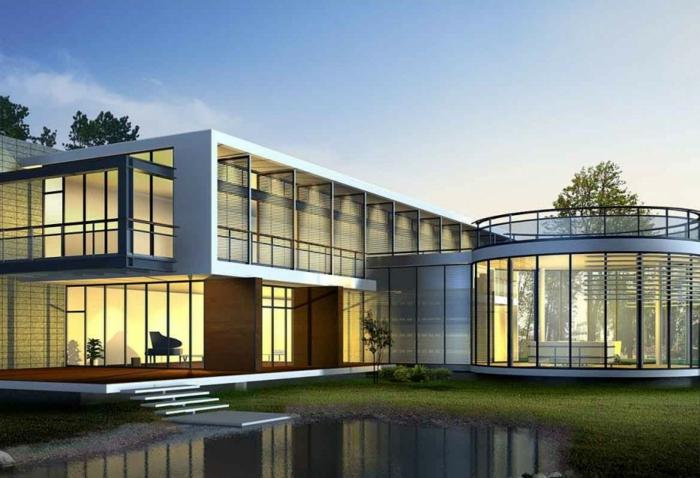 glasswand-terrasse-luxuriöses-haus