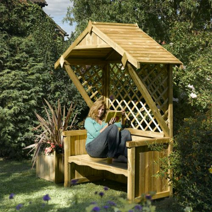 englische gartenbank mit dach 005328 eine interessante idee f r die gestaltung. Black Bedroom Furniture Sets. Home Design Ideas