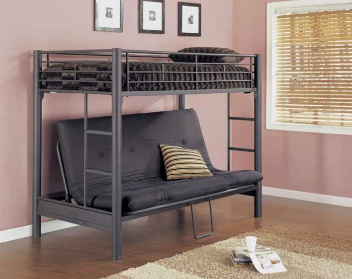 Ikea Französisches Hochbett ~   Schlafzimmer mit einem selber gemachten Hochbett für Erwachsene