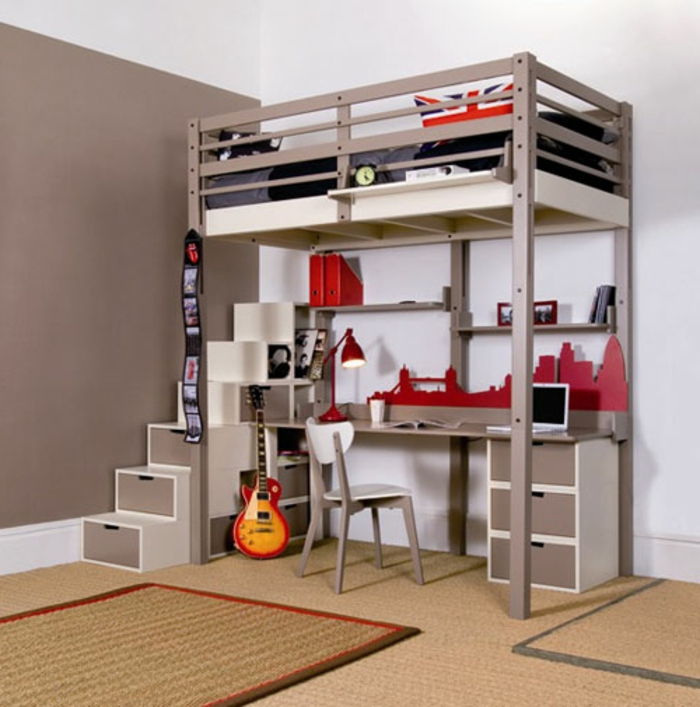Loft Bed For Adults Plans