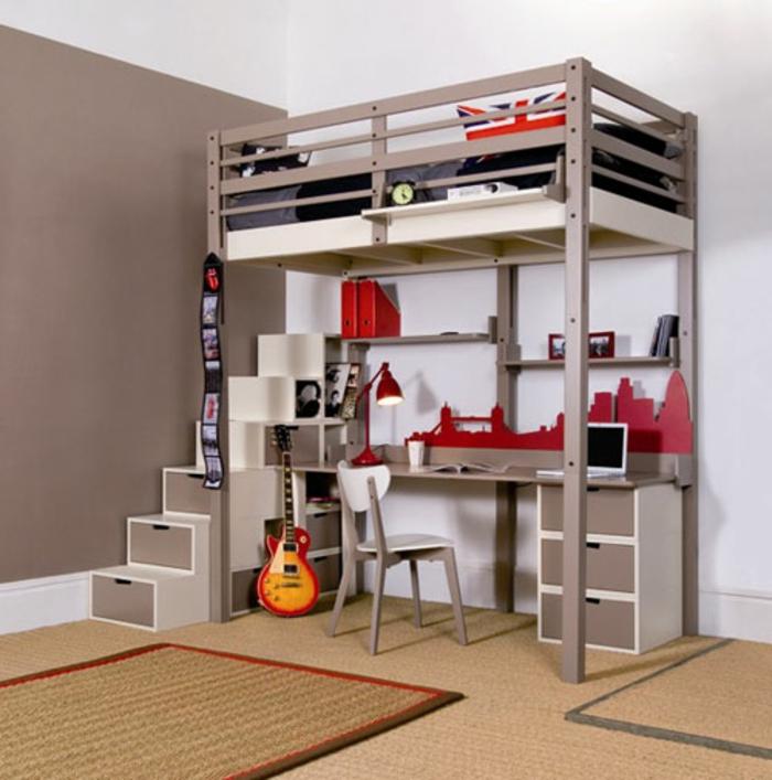 hochbett-für-erwachsene-sehr-attraktiv-zwei-teppiche