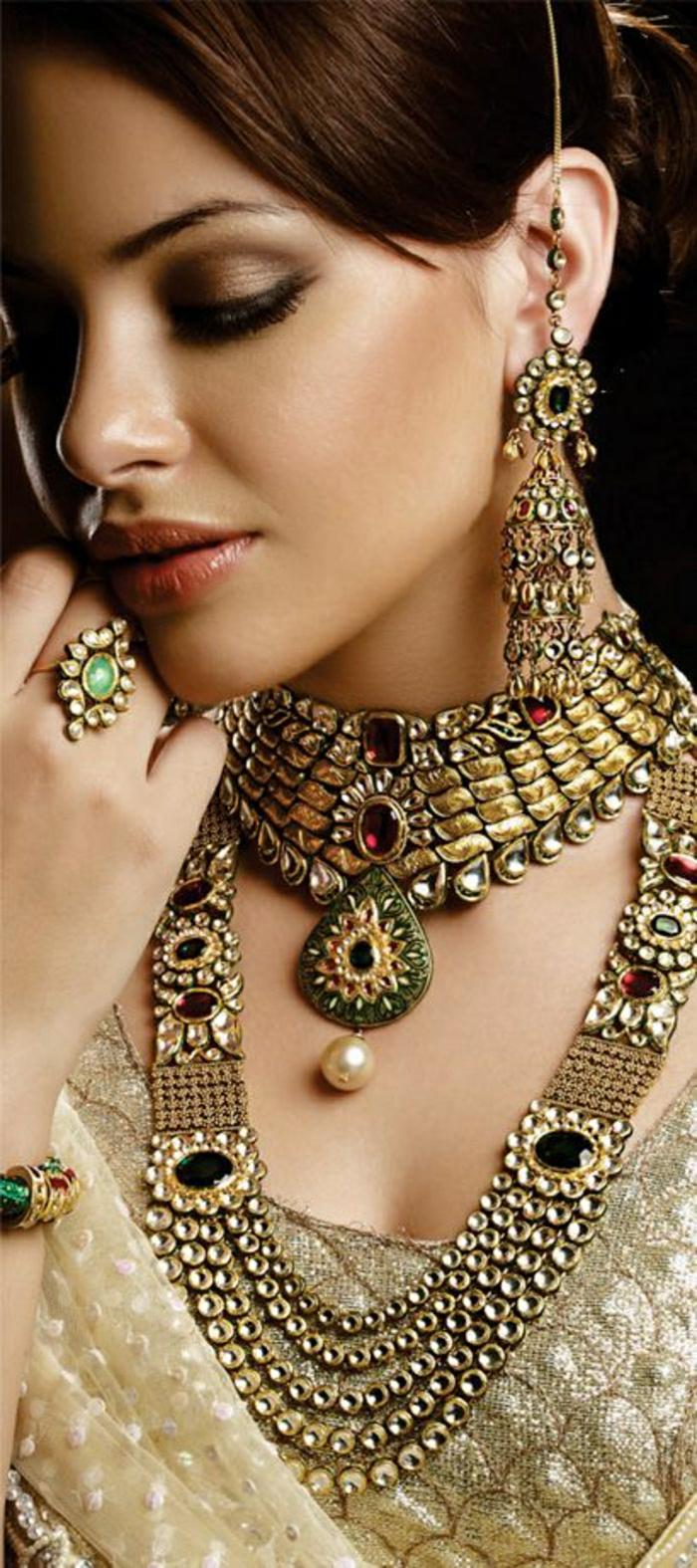 indischer-Schmuck-Braut-Accessoires-golden