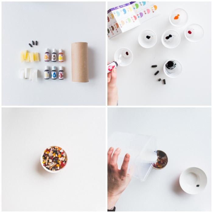 individuelle geschenke schritt für schritt anleitung, seife selber machen, collage