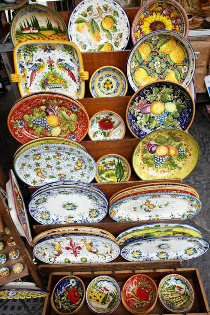 italienische-Keramik-Töpferei-Keramikplatten
