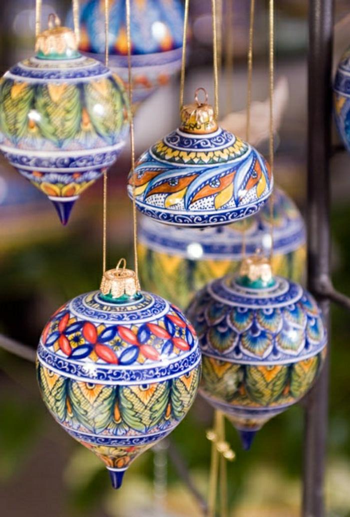 italienische-Keramik-Weihnachtsdekoration
