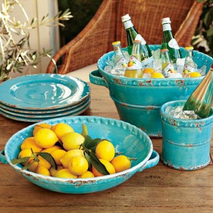 italienische-Keramik-Töpferei-geschirr-landhausstil-blau