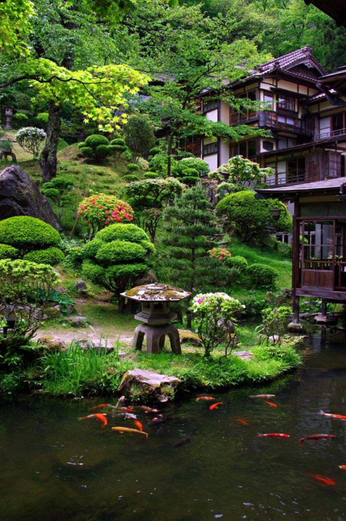 Japanischer garten das wunder der zen kultur for Garten fische