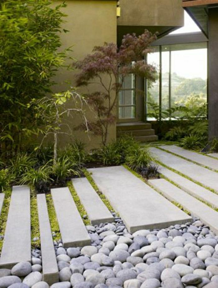 japanischer-Garten-dekorative-Steine