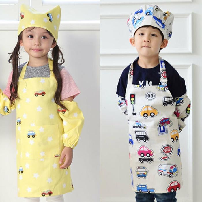 kinderschürze-nähen-zwei-lustige-bilder-von-kindern