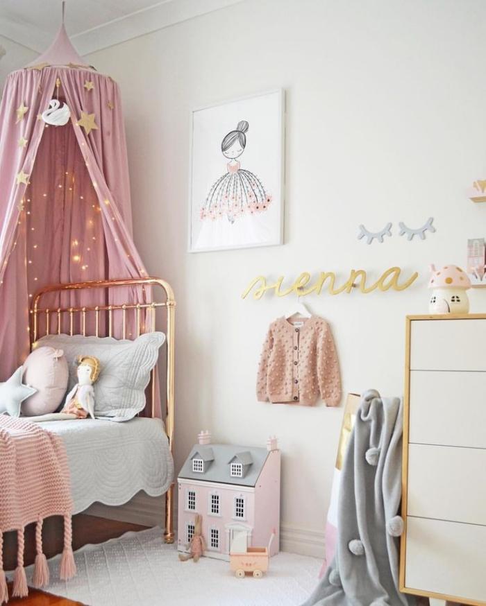 kinderzimmer deko, mädchenzimmer gestalten, zimmer dekorieren, wanddeko ideen, kinderzimmerdeko