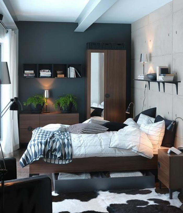 kleines schlafzimmer einrichten 30 super ideen. Black Bedroom Furniture Sets. Home Design Ideas