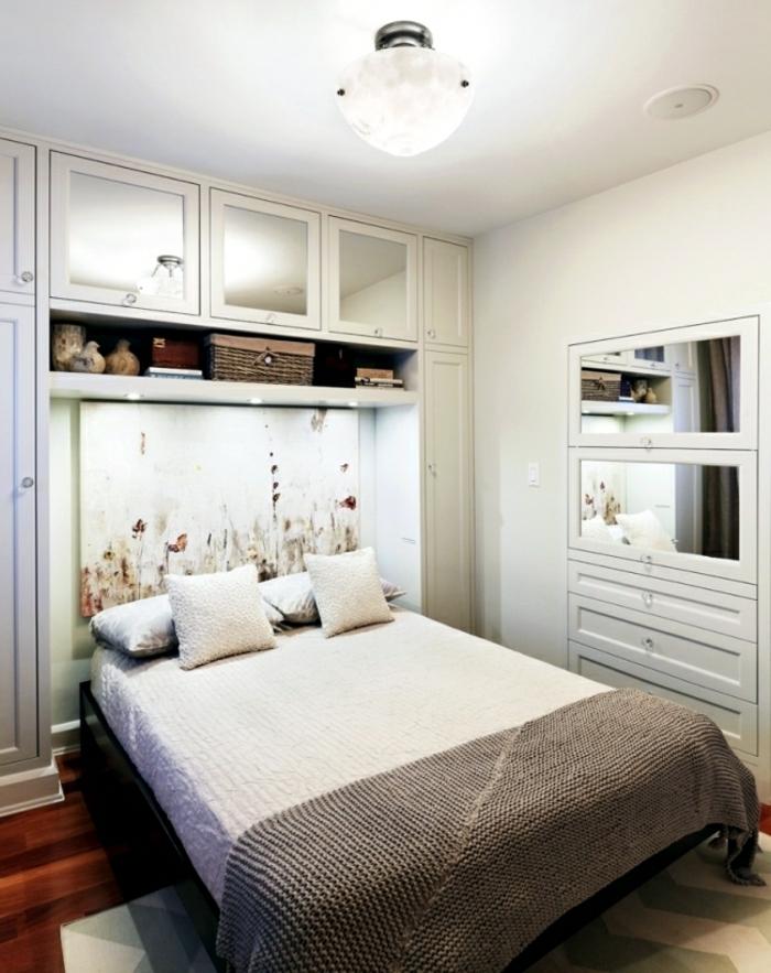 kleines schlafzimmer einrichten: 30 super ideen! - archzine