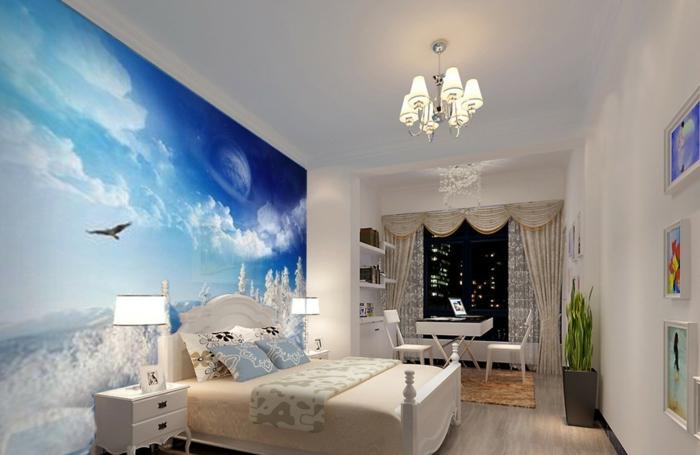 komplettes-Schlafzimmer-Phototapete