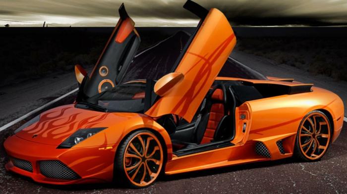 lamborghini-bilder-orange-farbe-sehr-schön