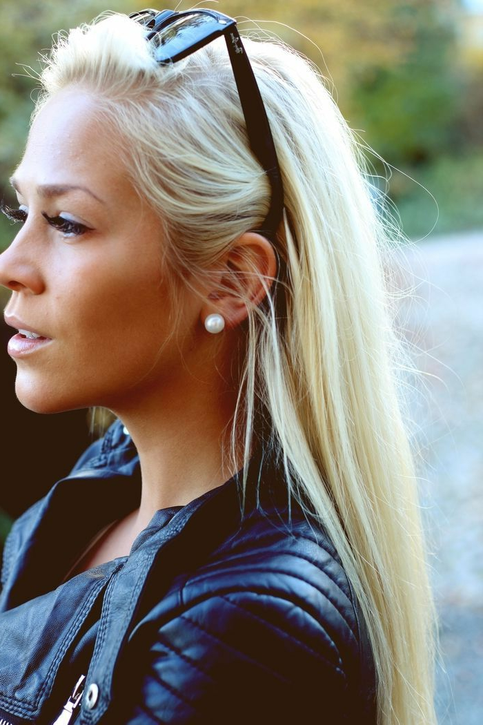 Lange Glatte Haare Sind Immer Im Trend Archzine Net