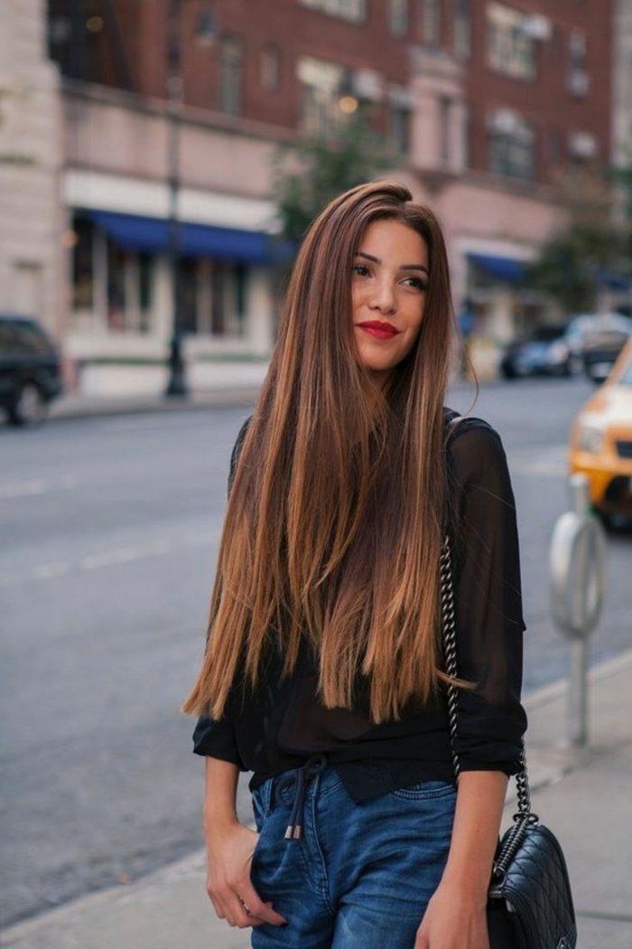 lange glatte haare sind immer im trend archzine