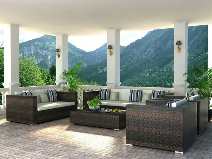 Loungemöbel  Für Balkon Elegant