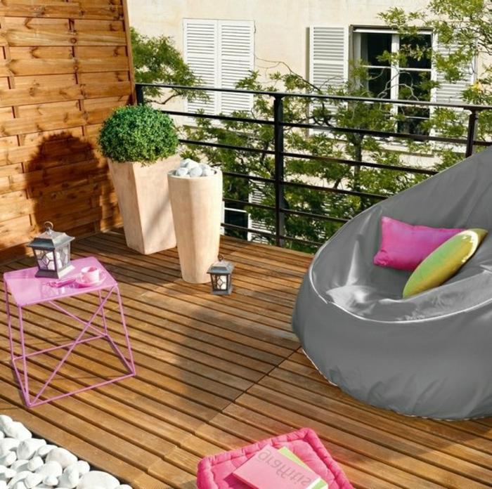 loungemöbel -für-balkon-holz-bunt