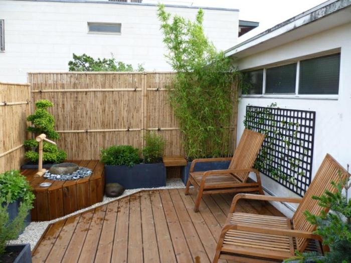loungemöbel -für-balkon-holz-stühle