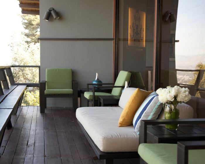 loungemöbel -für-balkon-modern-grün