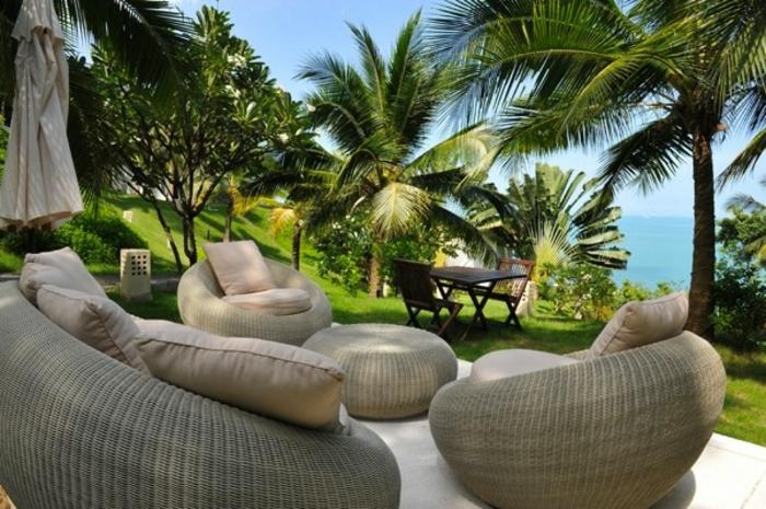 balkon einrichten modern. Black Bedroom Furniture Sets. Home Design Ideas