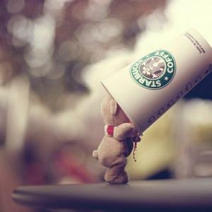 Starbucks Becher für einen guten Start Ihres Tages!