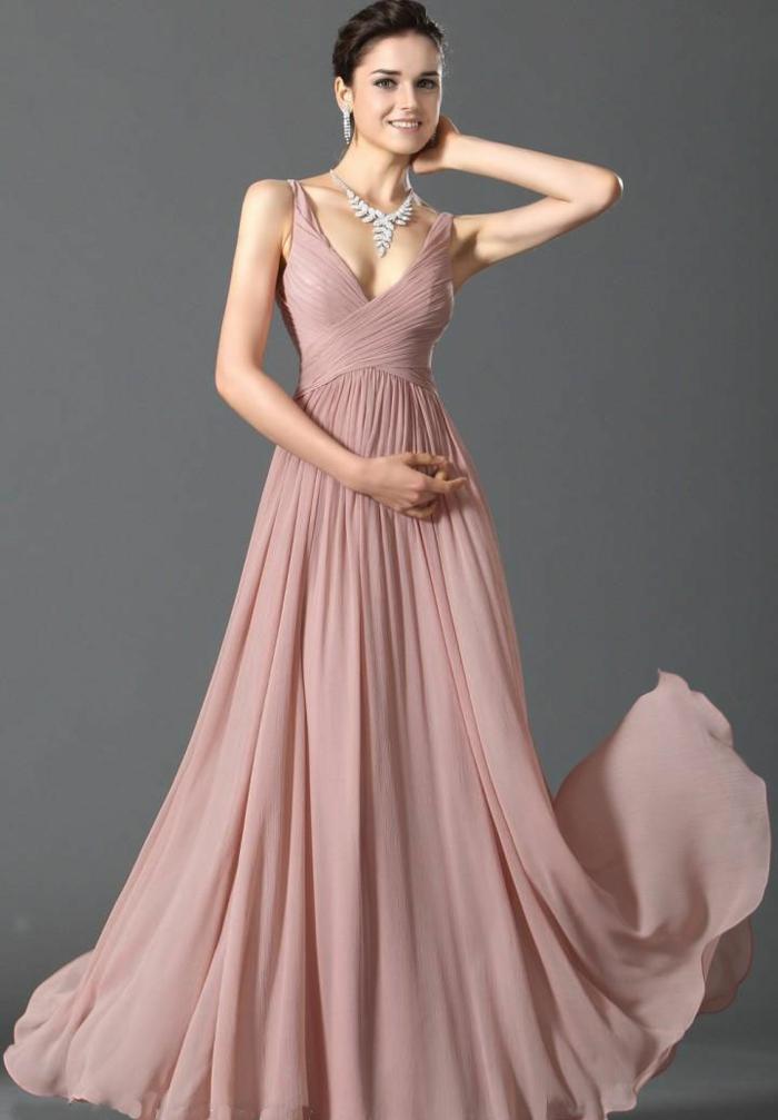 luxus-abendkleider-wunderschönes-rosiges-modell