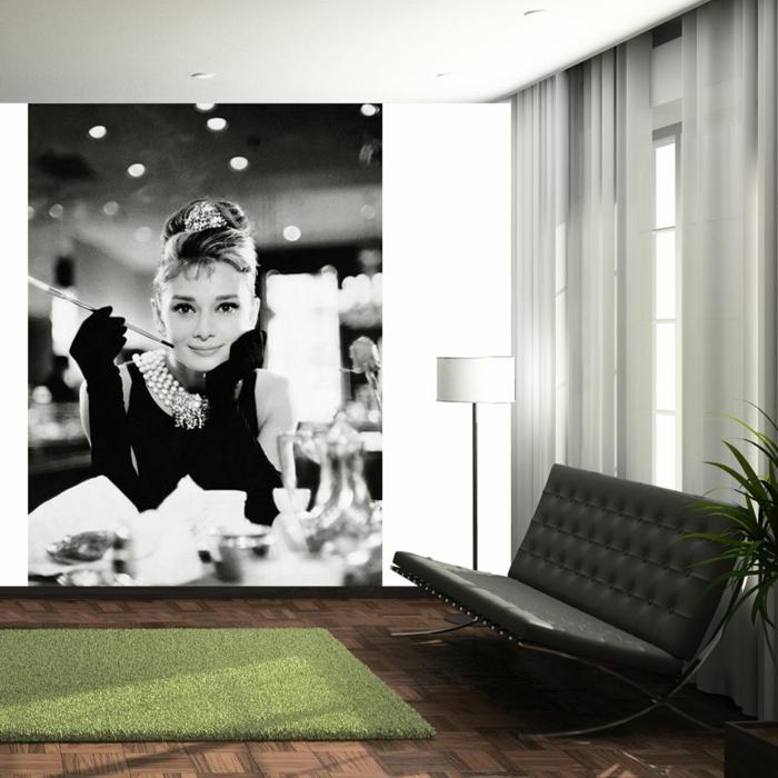 luxus-tapeten-bild-an-der-wand