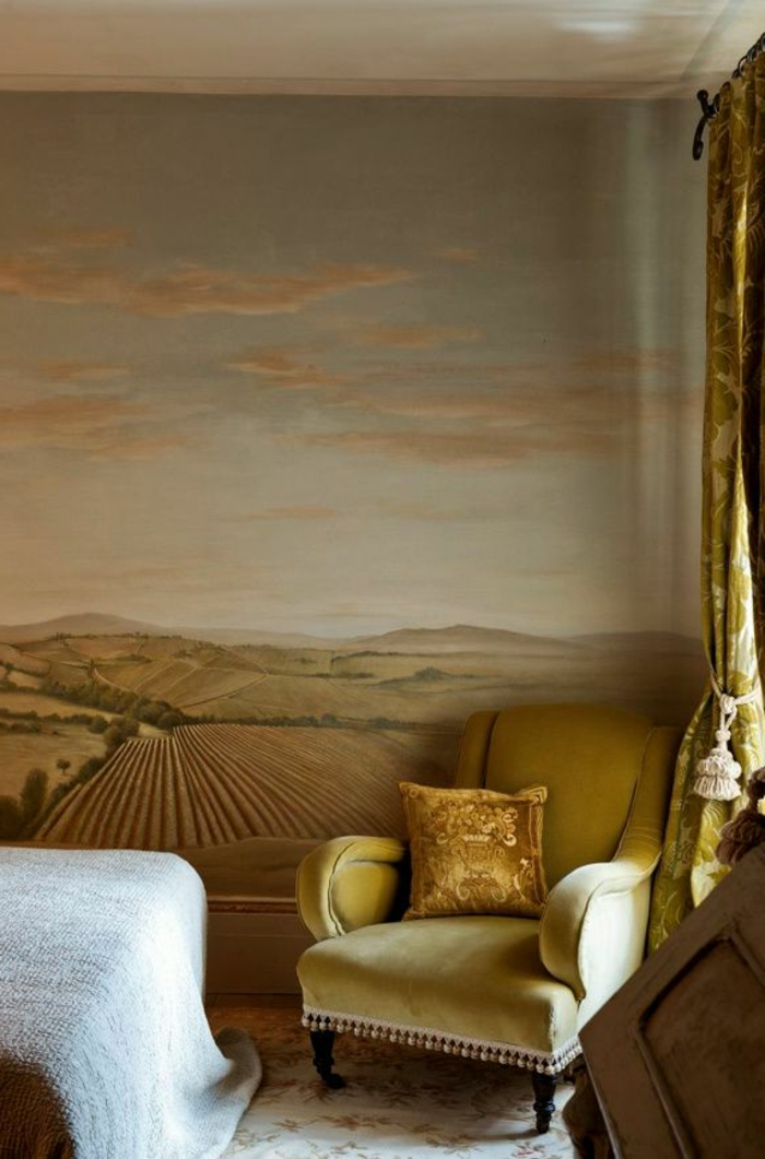 luxus-tapeten-goldene-farbe