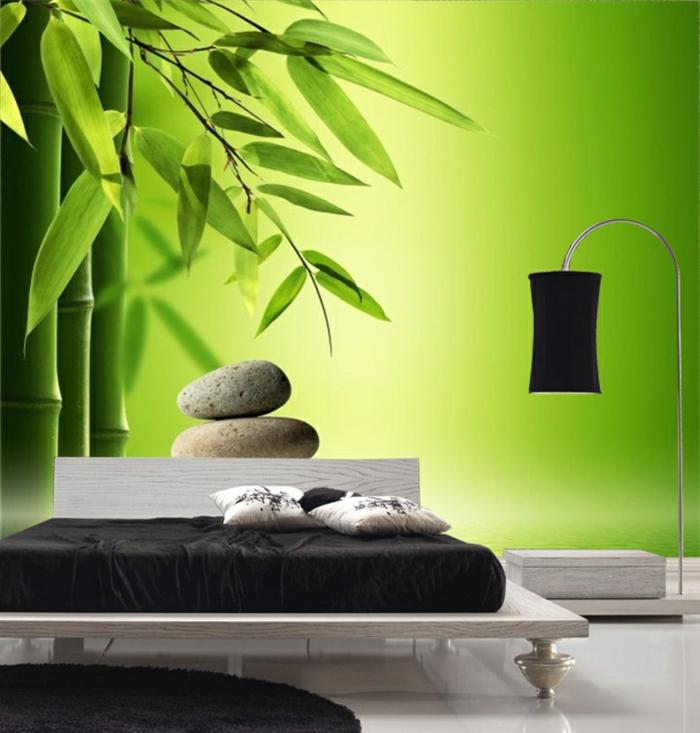 luxus-tapeten-grüne-farben