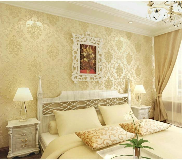 Luxus tapeten 36 einmalige designs - Schlafzimmer tapeten bilder ...