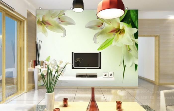 Hochwertige Moderne Tapeten : super tolle hochwertige tapeten – florale motive