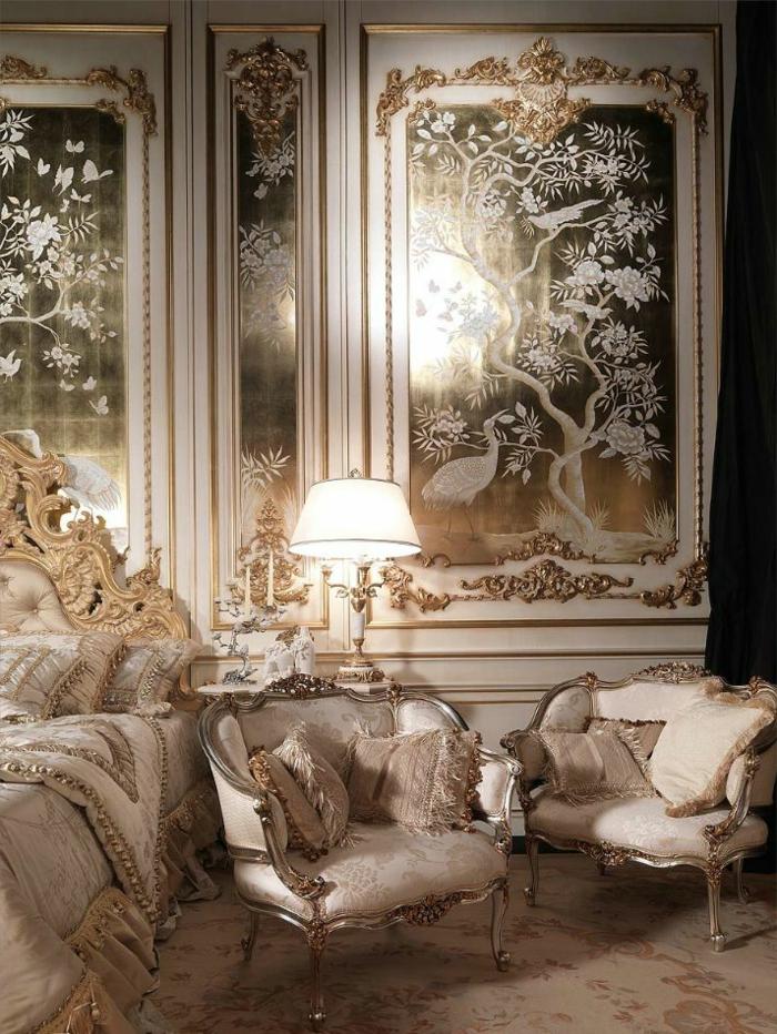 Luxus tapeten 36 einmalige designs - Babyzimmer barock ...