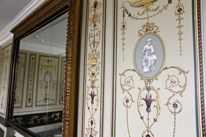 luxus-tapeten-weiße-ausstattung