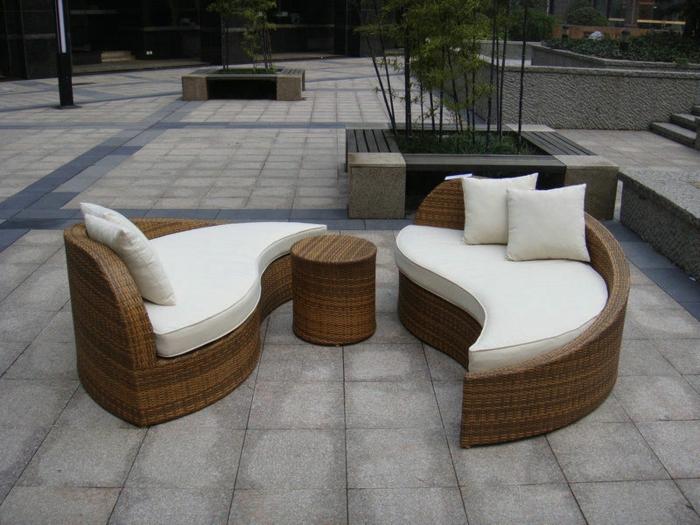 45 sch ne bilder von polyrattan tisch. Black Bedroom Furniture Sets. Home Design Ideas
