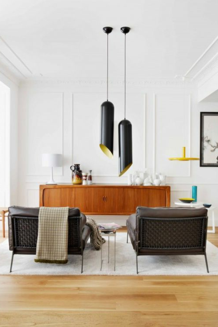 retro-lampen-schwarze-hängende-modelle