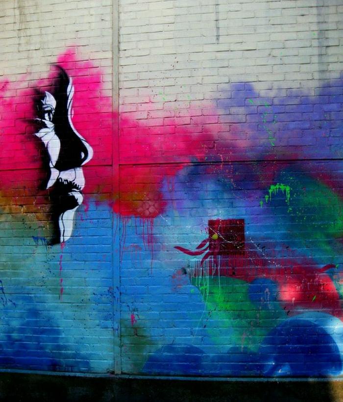 schöne-Graffiti-street-art-Gesicht-viele-Farben