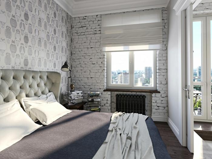 Genial Schlafzimmer Grau Streichen